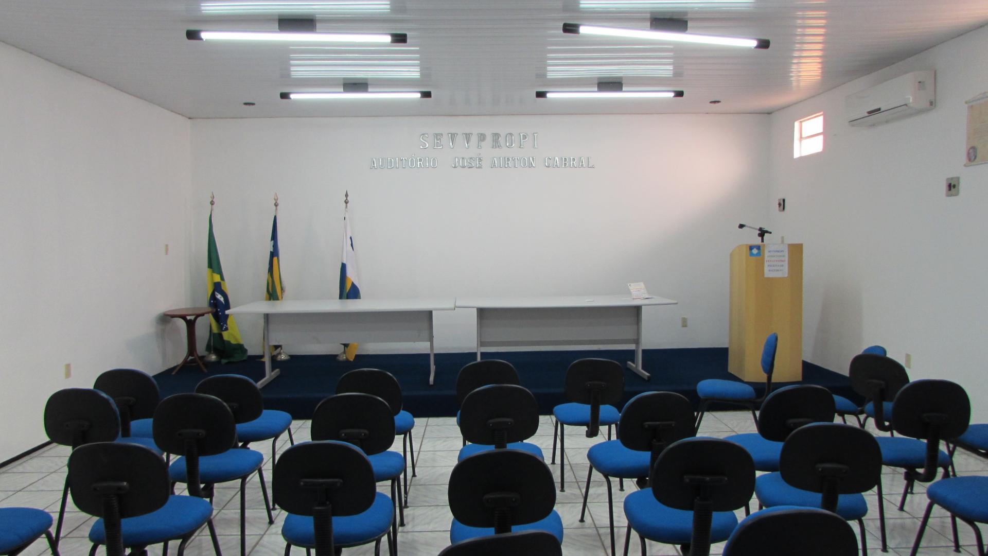 Auditório do SEVVPROPI